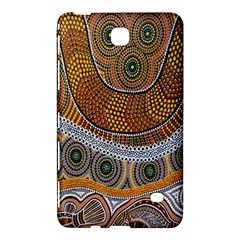 Aboriginal Traditional Pattern Samsung Galaxy Tab 4 (8 ) Hardshell Case  by Onesevenart