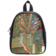 Traditional Korean Painted Paterns School Bags (small)  by Onesevenart