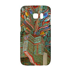 Traditional Korean Painted Paterns Galaxy S6 Edge by Onesevenart