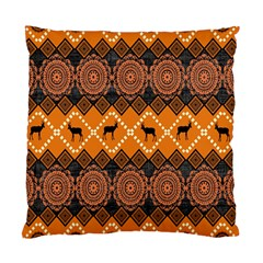 Traditiona  Patterns And African Patterns Standard Cushion Case (one Side) by Onesevenart