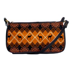 Traditiona  Patterns And African Patterns Shoulder Clutch Bags by Onesevenart