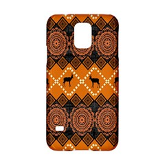 Traditiona  Patterns And African Patterns Samsung Galaxy S5 Hardshell Case  by Onesevenart
