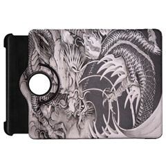 Chinese Dragon Tattoo Kindle Fire Hd 7  by Onesevenart