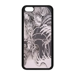 Chinese Dragon Tattoo Apple Iphone 5c Seamless Case (black) by Onesevenart