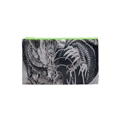 Chinese Dragon Tattoo Cosmetic Bag (xs) by Onesevenart
