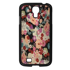 Japanese Ethnic Pattern Samsung Galaxy S4 I9500/ I9505 Case (black) by Onesevenart
