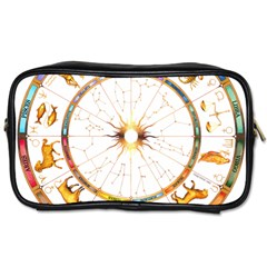 Zodiac  Institute Of Vedic Astrology Toiletries Bags 2 Side by Onesevenart