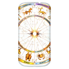 Zodiac  Institute Of Vedic Astrology Samsung Galaxy S3 S Iii Classic Hardshell Back Case by Onesevenart