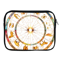Zodiac  Institute Of Vedic Astrology Apple Ipad 2/3/4 Zipper Cases by Onesevenart