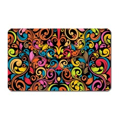 Art Traditional Pattern Magnet (rectangular) by Onesevenart