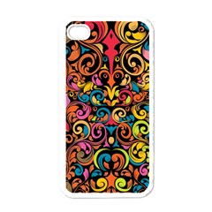 Art Traditional Pattern Apple Iphone 4 Case (white) by Onesevenart
