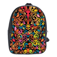 Art Traditional Pattern School Bags (xl)  by Onesevenart