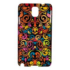 Art Traditional Pattern Samsung Galaxy Note 3 N9005 Hardshell Case by Onesevenart