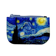 Starry Night Coin Change Purse by Ellador