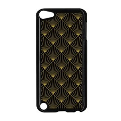 Abstract Stripes Pattern Apple Ipod Touch 5 Case (black) by Onesevenart