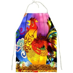 Chinese Zodiac Signs Full Print Aprons by Onesevenart