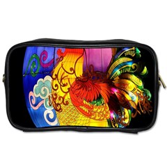 Chinese Zodiac Signs Toiletries Bags 2 Side by Onesevenart