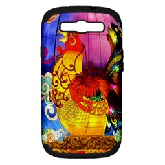 Chinese Zodiac Signs Samsung Galaxy S Iii Hardshell Case (pc+silicone) by Onesevenart