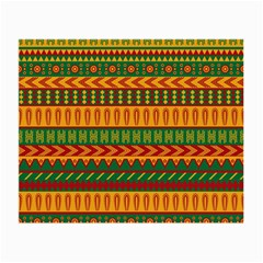 Mexican Pattern Small Glasses Cloth by Onesevenart