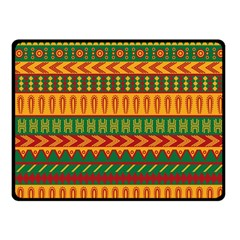 Mexican Pattern Fleece Blanket (small) by Onesevenart