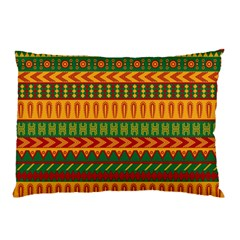 Mexican Pattern Pillow Case (two Sides) by Onesevenart