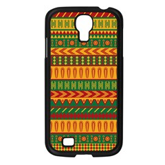 Mexican Pattern Samsung Galaxy S4 I9500/ I9505 Case (black) by Onesevenart