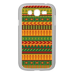 Mexican Pattern Samsung Galaxy Grand Duos I9082 Case (white) by Onesevenart