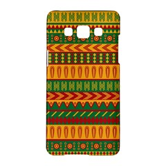 Mexican Pattern Samsung Galaxy A5 Hardshell Case  by Onesevenart