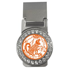 Chinese Zodiac Dog Money Clips (cz)  by Onesevenart