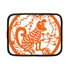 Chinese Zodiac Dog Netbook Case (small)  by Onesevenart