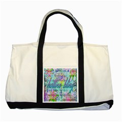 Drake 1 800 Hotline Bling Two Tone Tote Bag by Onesevenart