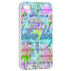 Drake 1 800 Hotline Bling Apple Iphone 4/4s Seamless Case (white) by Onesevenart