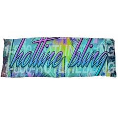 Drake 1 800 Hotline Bling Body Pillow Case Dakimakura (two Sides) by Onesevenart
