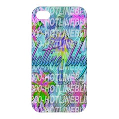 Drake 1 800 Hotline Bling Apple Iphone 4/4s Premium Hardshell Case by Onesevenart