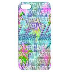 Drake 1 800 Hotline Bling Apple Iphone 5 Hardshell Case With Stand by Onesevenart