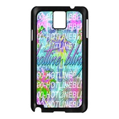 Drake 1 800 Hotline Bling Samsung Galaxy Note 3 N9005 Case (black) by Onesevenart