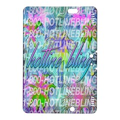 Drake 1 800 Hotline Bling Kindle Fire Hdx 8 9  Hardshell Case by Onesevenart
