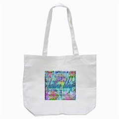 Drake 1 800 Hotline Bling Tote Bag (white) by Onesevenart
