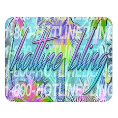 Drake 1 800 Hotline Bling Double Sided Flano Blanket (large)  by Onesevenart