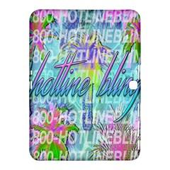 Drake 1 800 Hotline Bling Samsung Galaxy Tab 4 (10 1 ) Hardshell Case  by Onesevenart