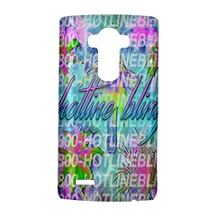 Drake 1 800 Hotline Bling Lg G4 Hardshell Case by Onesevenart