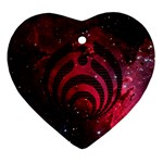 Bassnectar Galaxy Nebula Ornament (Heart)