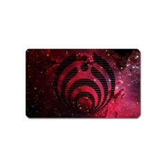Bassnectar Galaxy Nebula Magnet (name Card) by Onesevenart