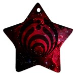 Bassnectar Galaxy Nebula Star Ornament (Two Sides)