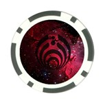 Bassnectar Galaxy Nebula Poker Chip Card Guard