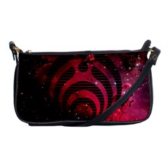 Bassnectar Galaxy Nebula Shoulder Clutch Bags by Onesevenart