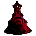 Bassnectar Galaxy Nebula Christmas Tree Ornament (Two Sides)