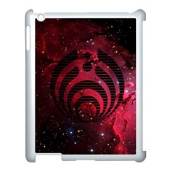 Bassnectar Galaxy Nebula Apple Ipad 3/4 Case (white) by Onesevenart