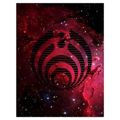 Bassnectar Galaxy Nebula Drawstring Bag (large) by Onesevenart