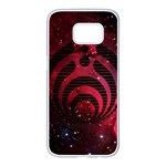 Bassnectar Galaxy Nebula Samsung Galaxy S7 edge White Seamless Case